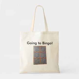 Bingo, Going to Bingo! Tote Bag