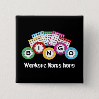 Bingo Hall add name work fun button