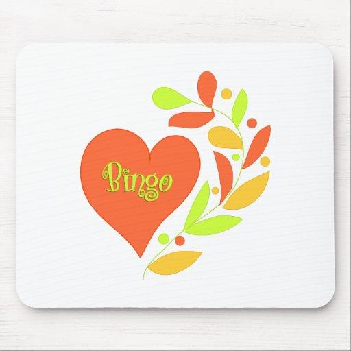 Bingo Heart Mousepad