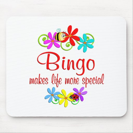 Bingo is Special Mouse Pads