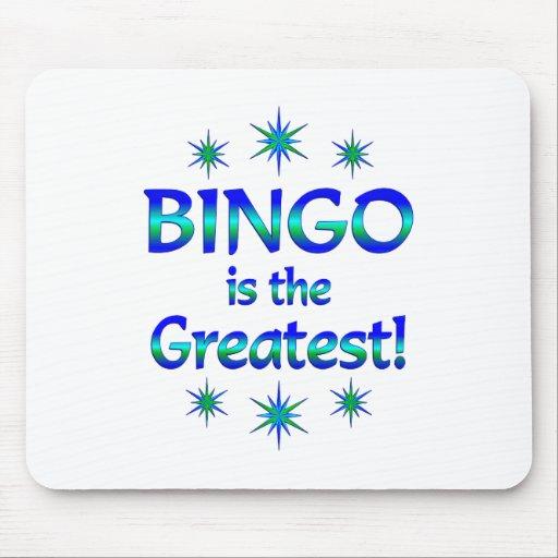 Bingo is the Greatest Mousepads