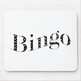 Bingo is your game! mousepads