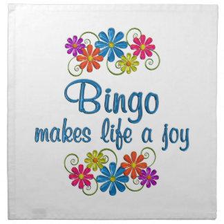 Bingo Joy Napkin
