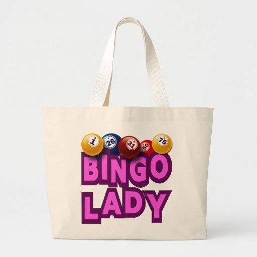 BINGO LADY CANVAS BAGS
