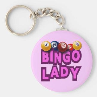 BINGO LADY KEY CHAINS