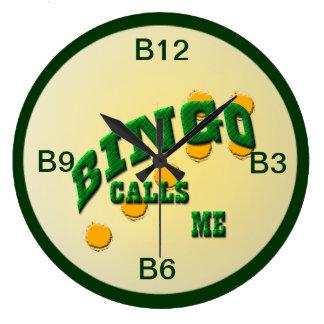 Bingo Large Clock