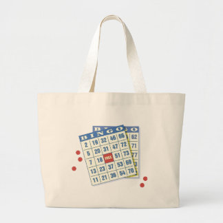 bingo large tote bag