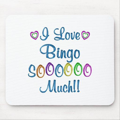 Bingo Love So Much Mousepad