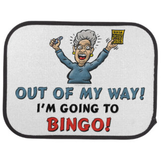 Bingo Lovers Car Floor Carpet