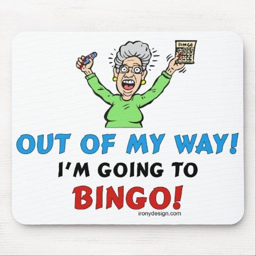 Bingo Lovers Mousepad