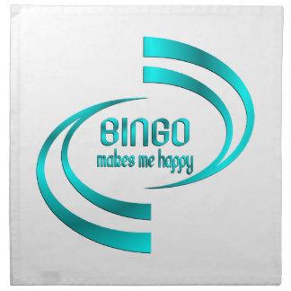 Bingo Makes Me Happy Napkin