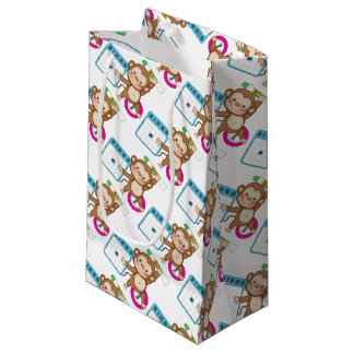 Bingo Monkey small gift bag