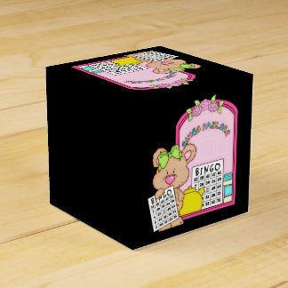 Bingo Parlor Bear Favor box