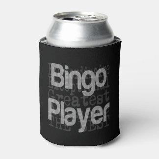 Bingo Player Extraordinaire Can Cooler