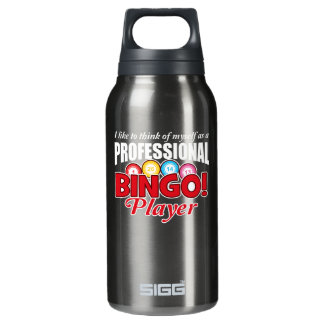 Bingo Player Think Myself As Professional Insulated Water Bottle