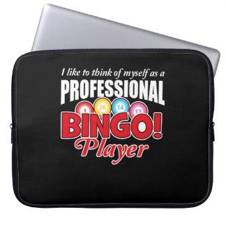 Bingo Player Think Myself As Professional Laptop Sleeve