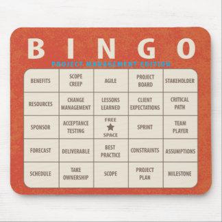 Bingo Project Management Edition Mouse Pad