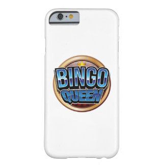 Bingo Queen Bingo Player Gift Funny Barely There iPhone 6 Case