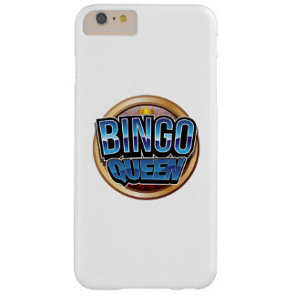 Bingo Queen Bingo Player Gift Funny Barely There iPhone 6 Plus Case