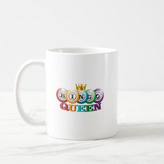 Bingo Queen Bingo Player Gift Funny Coffee Mug