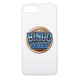 Bingo Queen Bingo Player Gift Funny iPhone 8/7 Case
