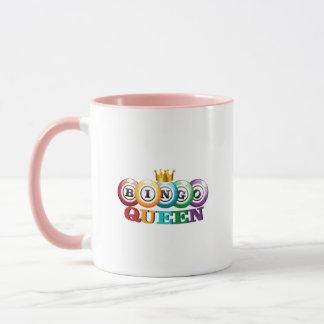 Bingo Queen Bingo Player Gift Funny Mug