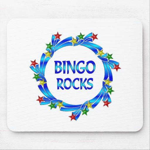 Bingo Rocks Mousepads