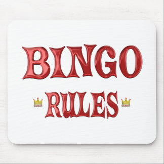 BINGO Rules Mouse Pads