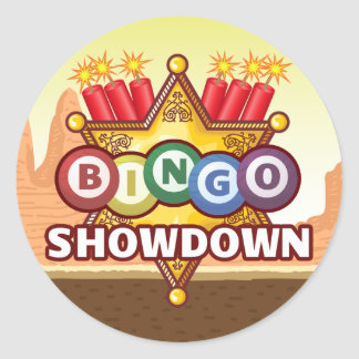 Bingo Showdown Stickers