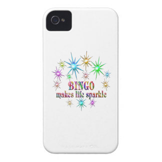 Bingo Sparkles iPhone 4 Covers