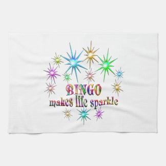 Bingo Sparkles Kitchen Towel