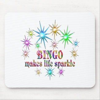 Bingo Sparkles Mouse Pad