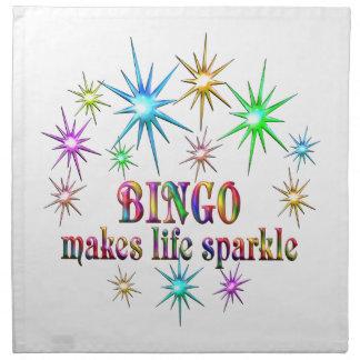 Bingo Sparkles Napkin