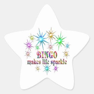 Bingo Sparkles Star Sticker