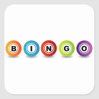 Bingo Square Sticker