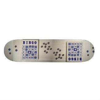 Bingo the gambling game skateboards