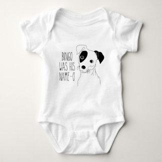 Bingo Was His Name-O Baby Bodysuit