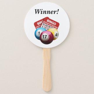 Bingo Winner Handheld Fans