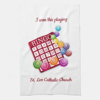 Bingo Winner Kitchen Towel