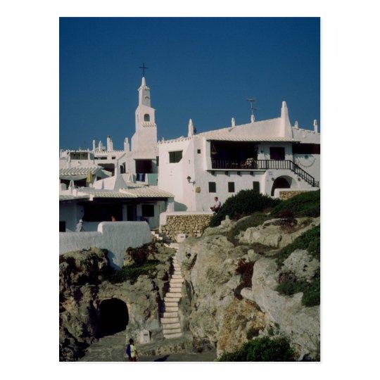 Binibeca Vell, Menorca, Spain Postcard