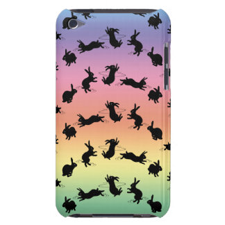 Binky Bunnies iPod Touch Case (Rainbow)