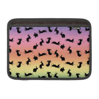 Binky Bunnies MacBook Air Sleeve (Rainbow)
