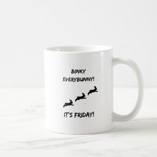 Binky Everybunny! It's Friday Coffee Mug