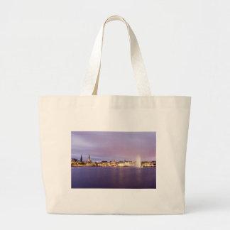 Binnenalster in Violet Large Tote Bag