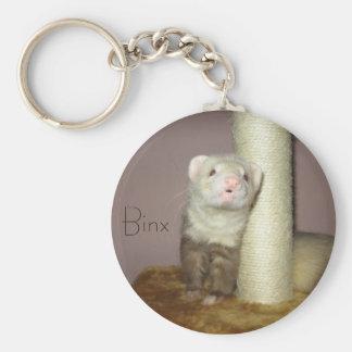 Binx the Ferret Basic Round Button Keychain