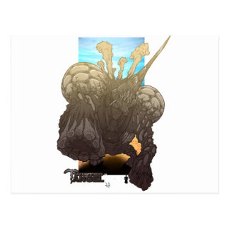 Bio Beast: Steel Latch Post Cards