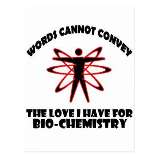 Bio-Chemistry designs Postcard