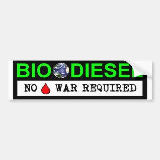 Bio Diesel Bumper Sticker