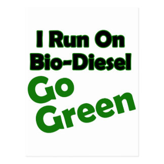 bio diesel postcard