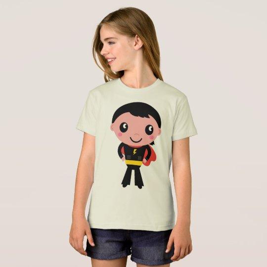 Bio girls t-shirt with Superhero